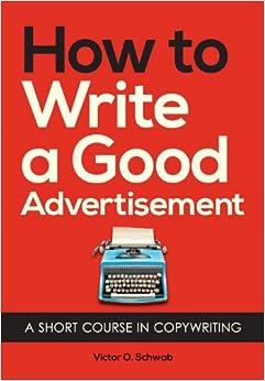 epub how to write good advertisement by victor schwab