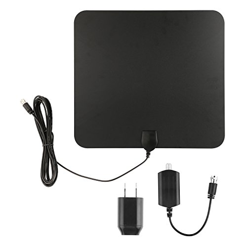 Blimark HDTV Indoor Antenna- 50 Miles Digital Long Range TV HD Antenna With Amplifier Signal Booster Upgraded Version Better Reception (Indoor Digital Tv Antenna compare prices)