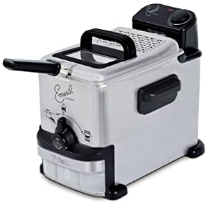 Emeril by T-fal FR702D001 1.8-Liter Deep Fryer with Integrated Oil Filtrati by T-fal