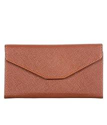Di GraziaMen Women Passport Documents Card Holder Wallet, Travel Organiser -Brown