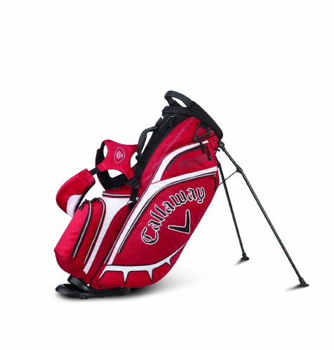 Callaway Golf RAZR Stand Bag (Red)