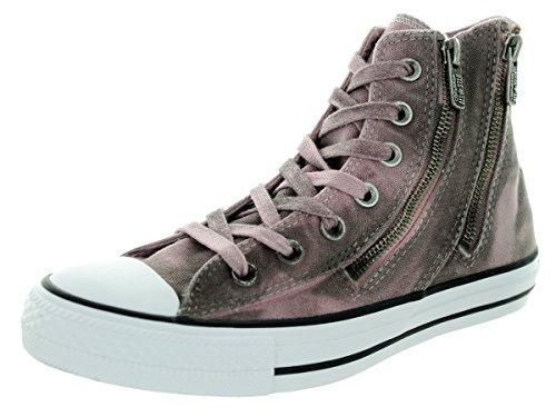 Converse Women's Chuck Taylor Dual Zip Hi Pink Freeze Basketball Shoe 7.5 Women US