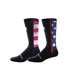 Buy Under Armour UA Stars & Stripes Crew Socks by Under Armour