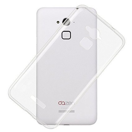 CEDO Premium Transparent clear white Silicon Flexible Soft TPU Slim Back Case Cover For Coolpad Note 3 Lite 5 inch