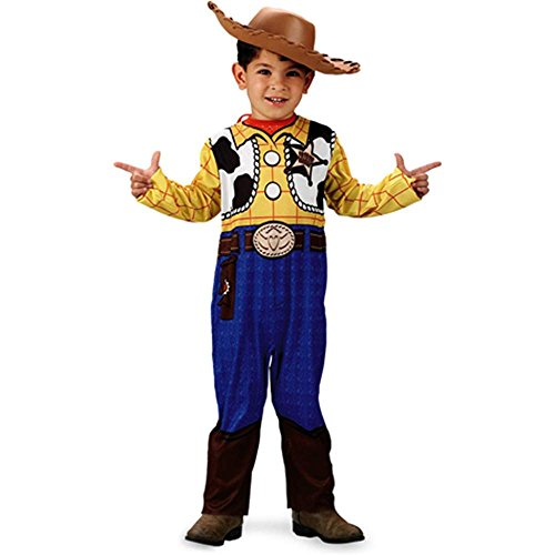 Toy Story Woody Classic Toddler Costume - 3T-4T