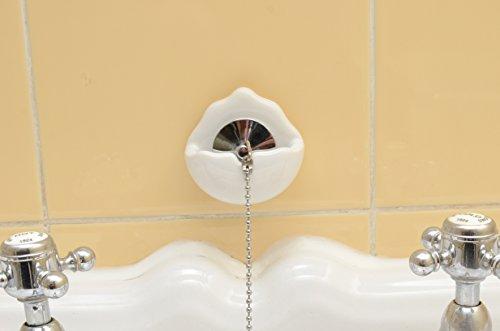 GreatIdeas? X 2 Ceramic Bath Basin Sink Plug Holders - *LIMITED Offer*