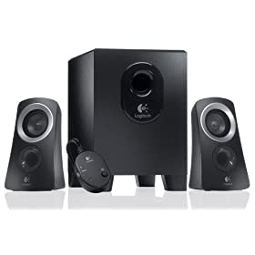 Amazon - Logitech Z313 2.1 Multimedia Speaker System - $46.11