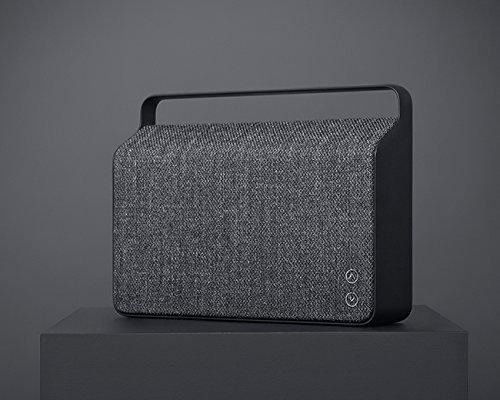 Vifa Copenhagen Hi-Resolution Bluetooth WiFi Wireless Portable Speaker - Anthracite Grey