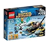 Game / Play LEGO Super Heroes Arctic Batman Vs Mr Freeze 76000 Features Batboat And Exploding Ice Block Toy /...