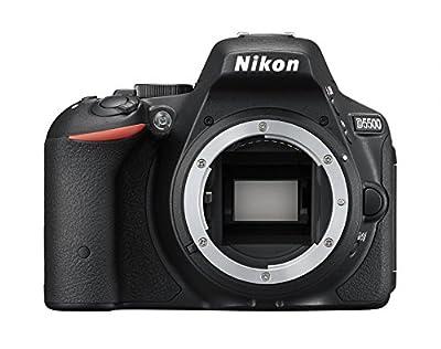 Nikon デジタル一眼レフカメラ D5500 ボディー ブラック 2416万画素 3.2型液晶 タッチパネル D5500BK