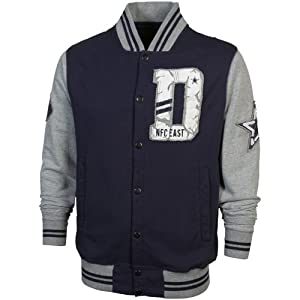 Dallas Cowboys Mens Harpooner Letter Jacket by Dallas Cowboys Merch.