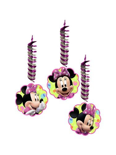 Disney Minnie Mouse Bow-tique Hanging Dacorations