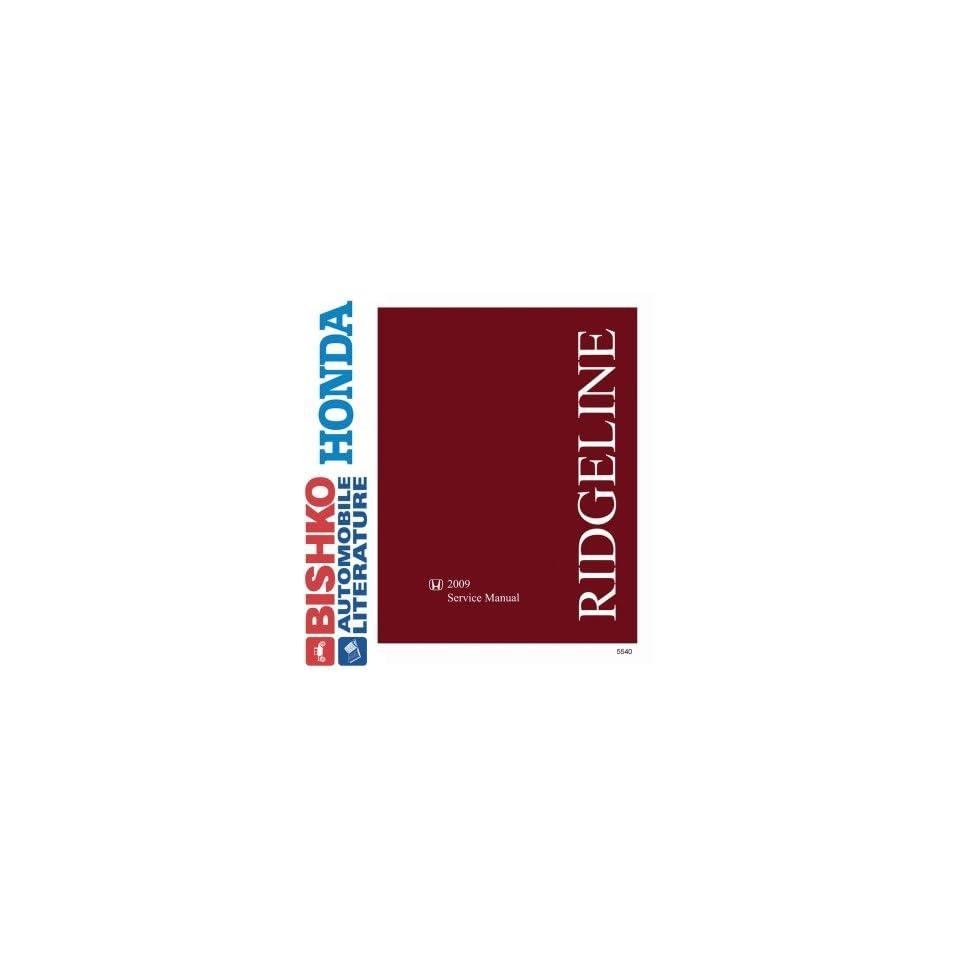 2009 Honda Ridgeline Shop Service Repair Manual CD Engine Drivetrain Wiring OEM