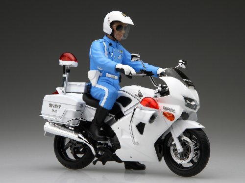 Fujimi Bike Sp Honda Vfr800p Police Motorcycle 1 12 Scale Kit Ebay