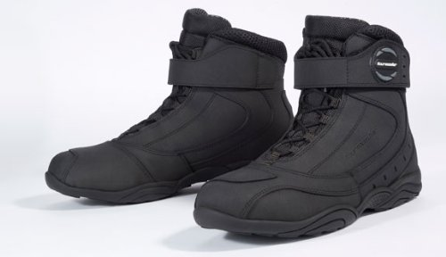 Tourmaster Men's Black Leather Response Waterproof 2.0 Boot (Size 12) 8602-0235-46