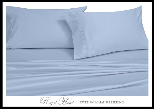 King / Cal-King Blue Silky Soft Duvet Covers 100% Rayon From Bamboo Duvet Cover Sets front-1049973