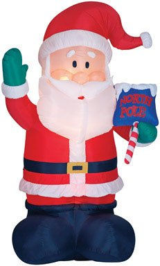 North Pole Santa Claus 16 Ft Tall Giant Christmas