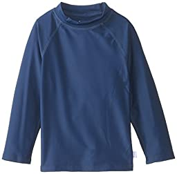 i play. Toddler Long Sleeve Rashguard Shirt, Navy, 3T