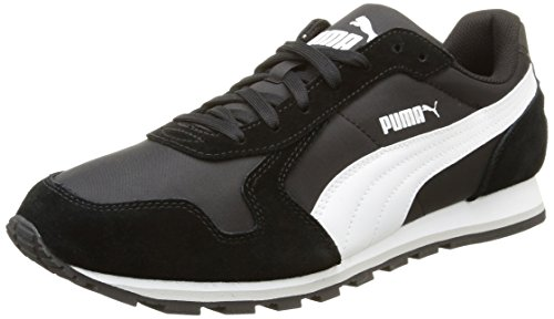 Puma Unisex-Erwachsene ST Runner NL Sneakers, Schwarz (Black/White), 43 EU / 9 UK thumbnail