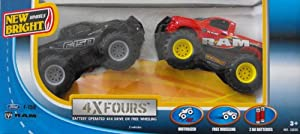 New Bright Off Road Monster Trucks Dodge Ram Ford F150