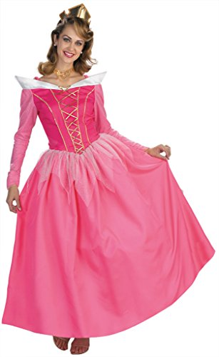 Disguise Womens Disney Princess Pink Aurora Prestige Halloween Themed Costume