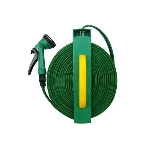Roll Flat Hose- Compact Garden Hose Reel Kit : Patio, Lawn & Garden