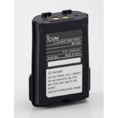Icom Bp-245 Battery Pack 7.4V 2000Mah Li-Ion For M71