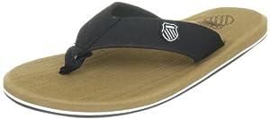 K-Swiss K-SWISS PLUSH SANDAL 02508-003-M - Sandalias de caucho para hombre, color negro, talla 47