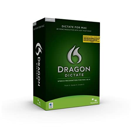 Dragon Dictate Student/Teacher Edition,  Version 2, Mac