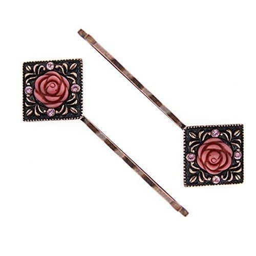 1928-jewelry-swarovski-copper-tone-light-rose-elements-carved-rose-hair-jewelry-by-1928-jewelry