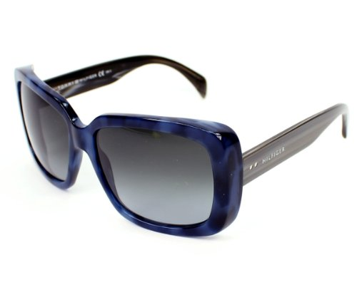 Tommy Hilfiger Sunglasses Th 1087 /S Wgppt Acetate Havana Blue - Grey Grey Brown Gradient