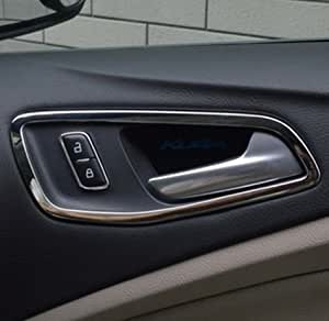 gooacc 4pcs interior inside chrome door handle cover trim for ford escape kuga 2013. Black Bedroom Furniture Sets. Home Design Ideas