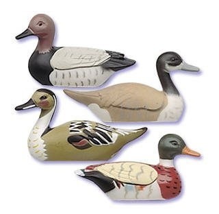 Cakesupplyshop Item#4578Y- Decoy Duck Hunting 3.75inch Cake Decoration Toppers -4pack - 1