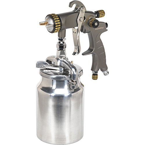 Sealey HVLP02 HVLP Suction Feed Spray Gun Set-Up, 1.7 mm