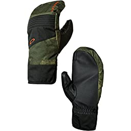 Oakley Men\'s Roundhouse Mitts, Herb Smoke, Large