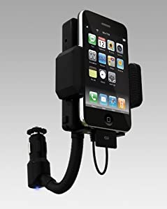 Wireless FM Transmitter / Car Adapter Charger for iPod Touch, iPhone, Nano, Classic Charge your iPod / iPhone while using FM transmitter 4GB, 8GB, 16GB, 32GB, 64GB, 120GB, 160GB by Esky