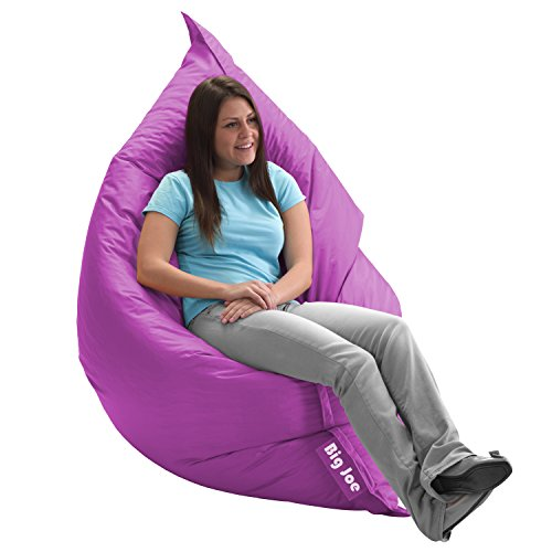 huge purple beanbag chair