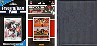 NFL Tampa Bay Buccaneers Licensed 2013 Score Team Set and Favorite Player Trading... by C&I Collectables