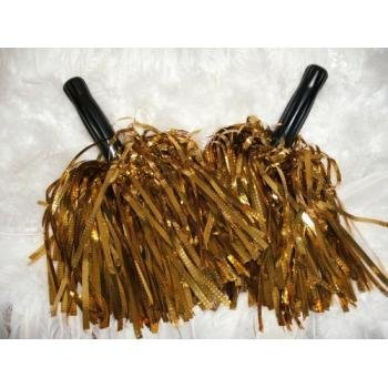 buy Value pack: metallic gold cheerleader pom poms - cheerleading special! [misc.] for sale