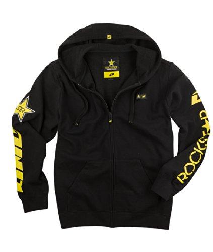 one-industries-rockstar-shattered-full-zip-hooded-sweatshirt-black-medium