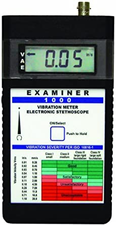 Monarch Examiner 1000 System Vibration Meter without OnTime Software