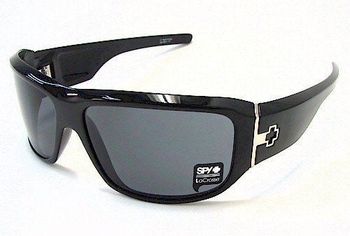 SPY OPTIC Lacrosse Sunglasses LCBS00 Shiny Black Shades