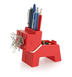 Rocky Desk Butler - Desktop Organizer (Red)