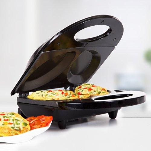 Holstein Housewares HF-09010B Fun Omelet Maker - Black