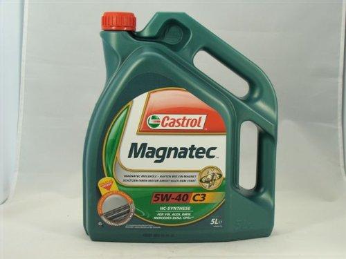 Motoröl Castrol Magnatec 5W-40 C3 5 Liter Volkswagen,
