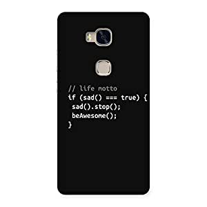 Programer Life Back Case Cover for Huawei Honor 5X