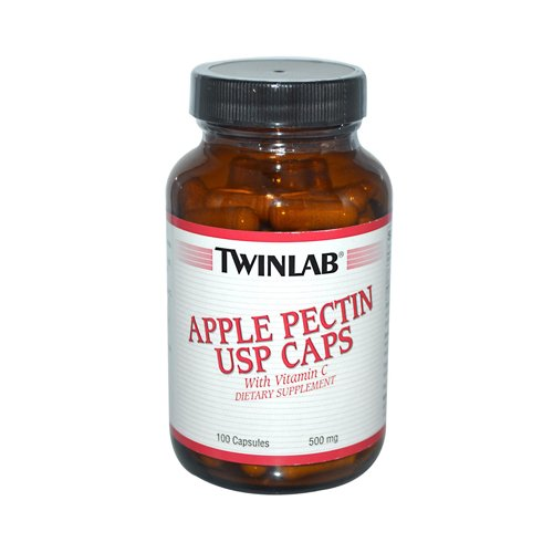 Twinlab Apple Pectin Usp Caps 500 Mg 100 Capsules