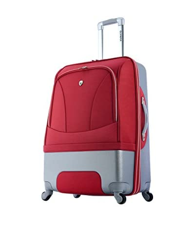 Olympia Majestic Mid-Size Hybrid Spinner Bag, Red