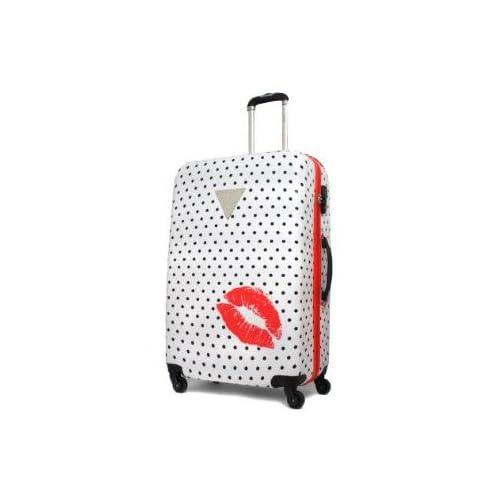 (ゲス)GUESS スーツケース Polka Dot Kiss GPZ1-72 72cmホワイト