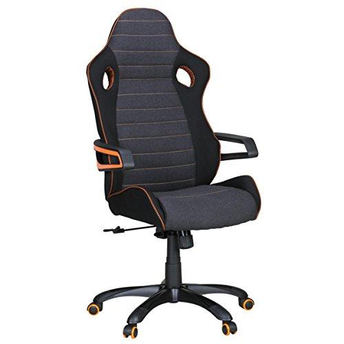 Amstyle-SPM1260-Alonso-Racing-Chefsessel-orange-Line-schwarz-grau